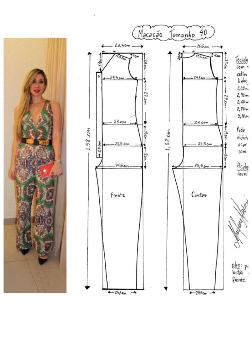 Pin von Kleia Alcantara auf Costura | Pinterest | Nähe ...