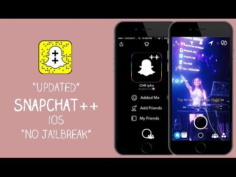 How To Install Snapchat ++ v9 39 3 For iOS 10 / 9 3 5 - 9 2