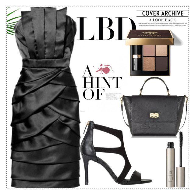 """Little Black Dress"" by sindhuja-coolgirl ❤ liked on Polyvore featuring Badgley Mischka, Bobbi Brown Cosmetics, Ilia, polyvorecommunity, polyvoreeditorial, polyvorefashion and polyvoreset"