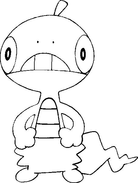 Scraggy Pokemon Coloring Pages Pokemon Coloring Coloring Pages