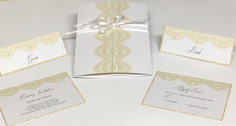 Wedding invitation set 007 | Wedding invitation sets and Innovation ...