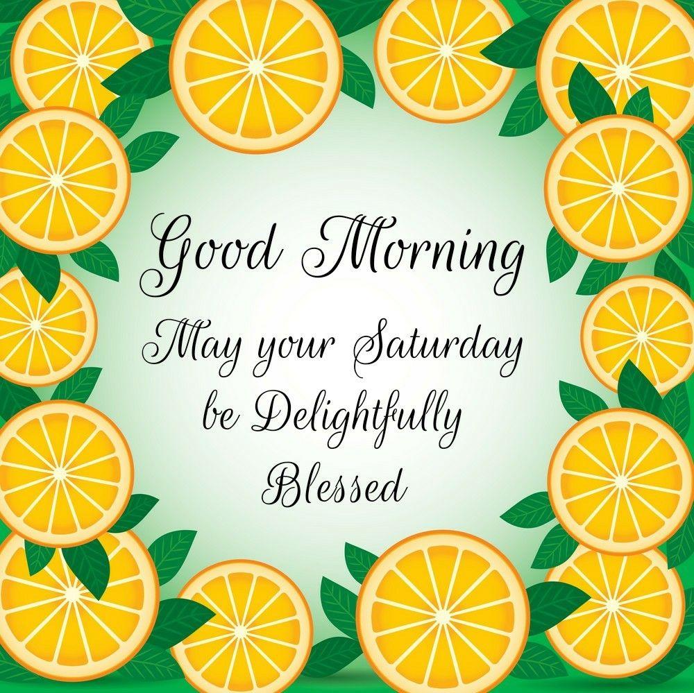 Delightful Saturday Good morning good night, Good