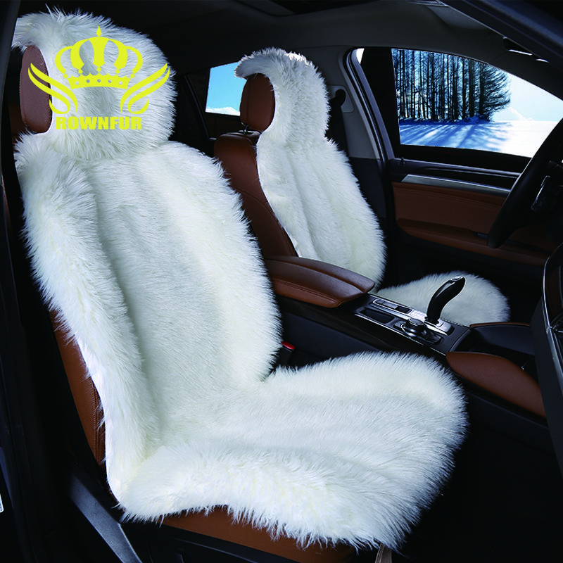 2pc Faux Fur Car Seat Cover 5colors Universal Size For All Types Of Seats Very Warm Nice And Soft For Car Lada Granta Carseat Cover Car Seats Cover