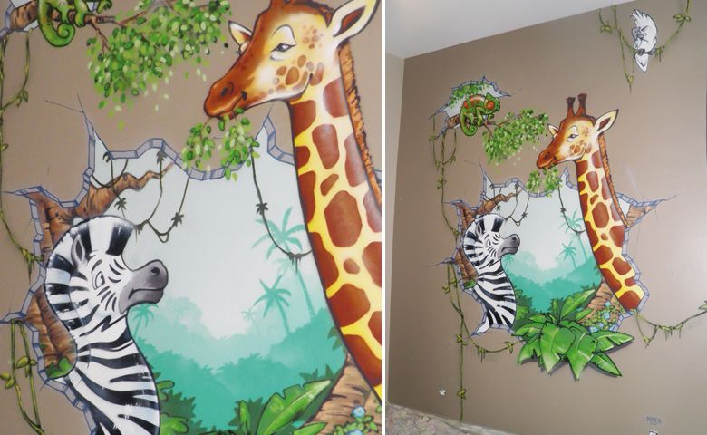 Marvelous Decoration Jungle Chambre Bebe #5: Deco Chambre Bebe Garcon Jungle