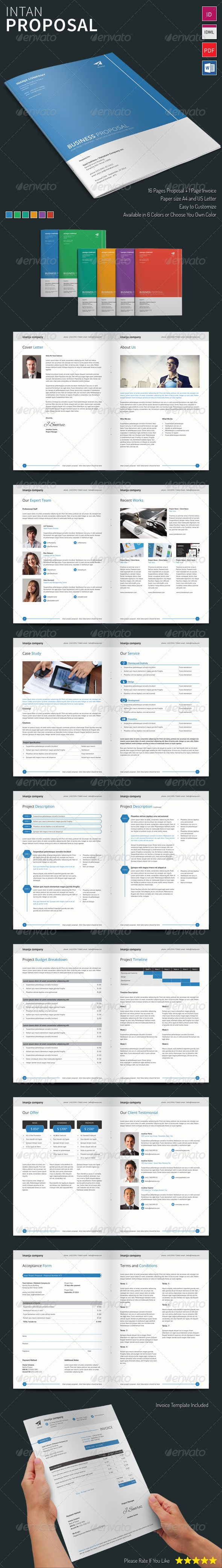 Intan  Proposal Template  Purpose Proposals And Graphics