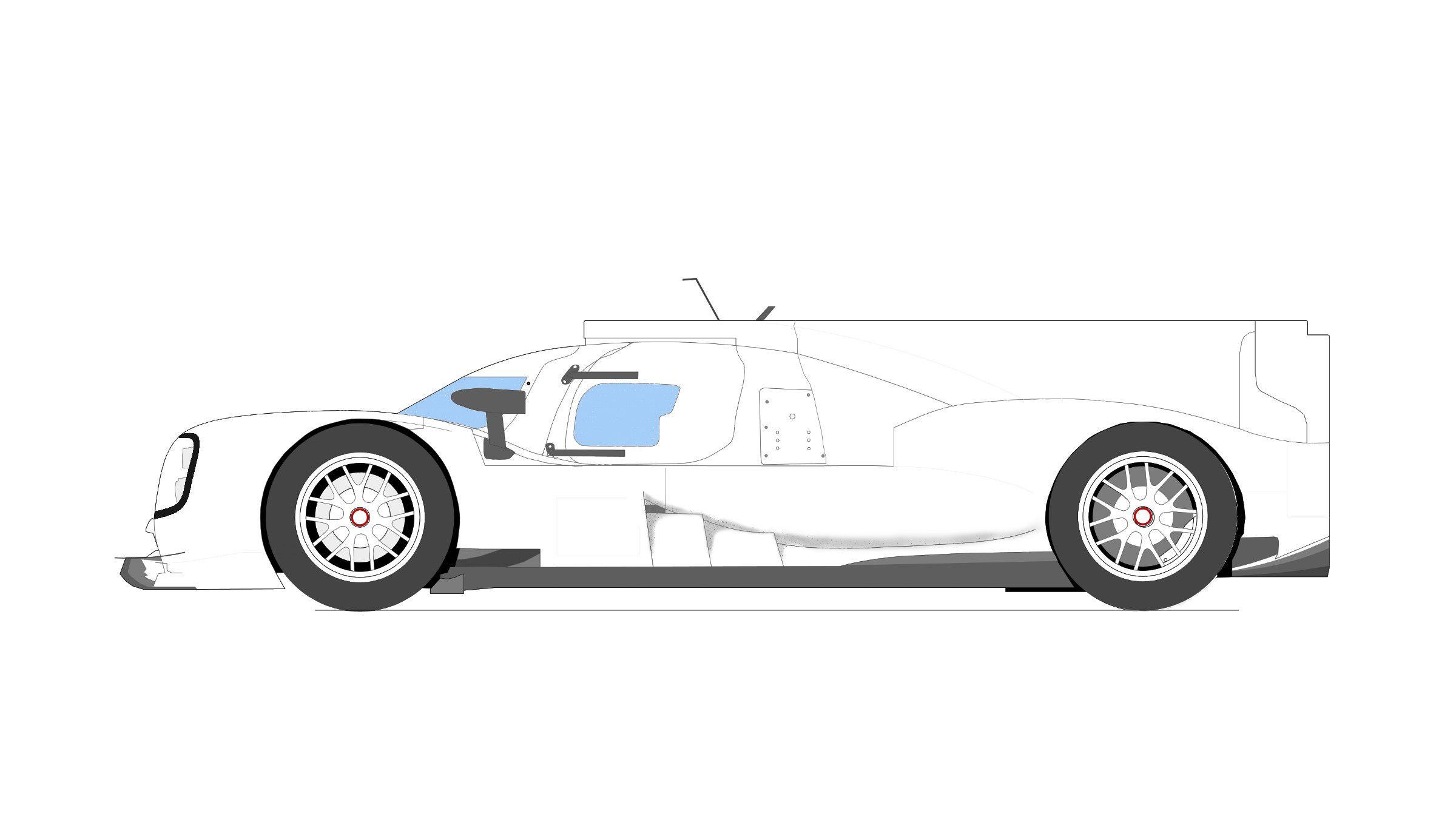 #Porsche919; #LMP1; #Cardrawing