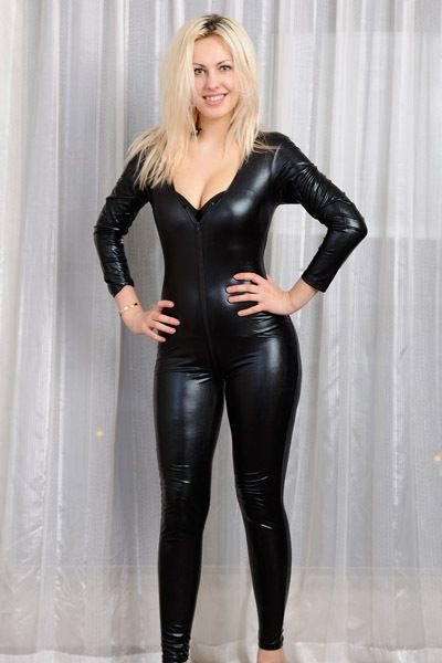 19d90199835 Find More Jumpsuits   Rompers Information about S XL Plus Size 2014 New  Women Black Faux leather Jumpsuit Open Front Sexy Bodycon Women leather  Catsuit ...