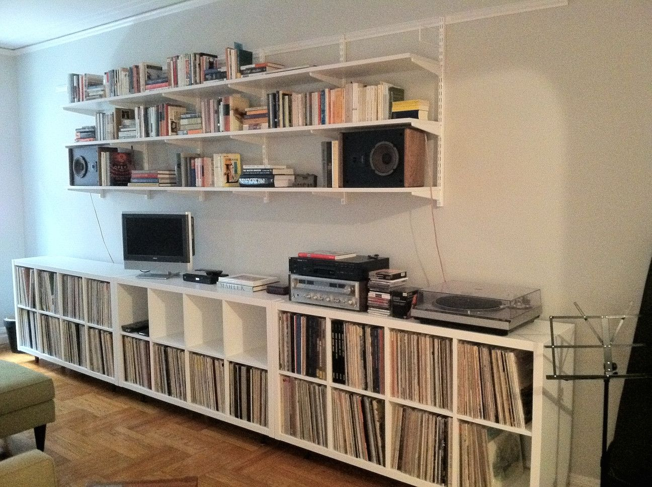 Serious wall organization  Remodeled  Vinyl record