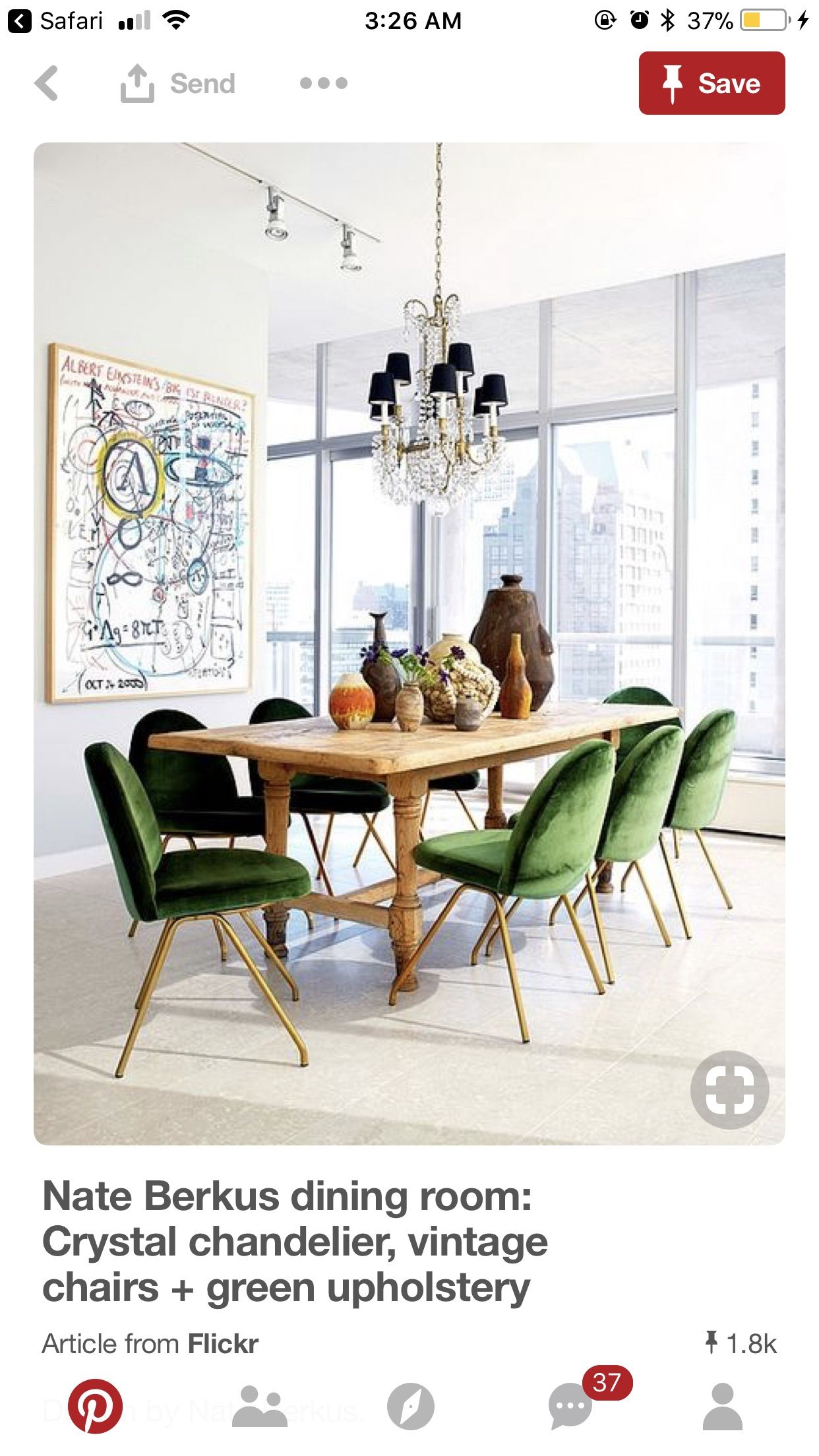 Pin By Vivian Gallegos On For The Love Of Furniture With Images Rustic Dining Room Dining Room Inspiration Velvet Dining Chairs