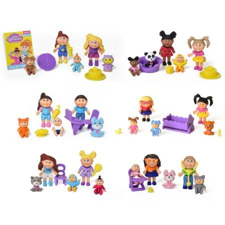 Cabbage Patch Kids Little Sprouts Friends 4 Pack Assorted Styles