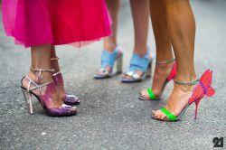 Candy heels. Source: 21ème.