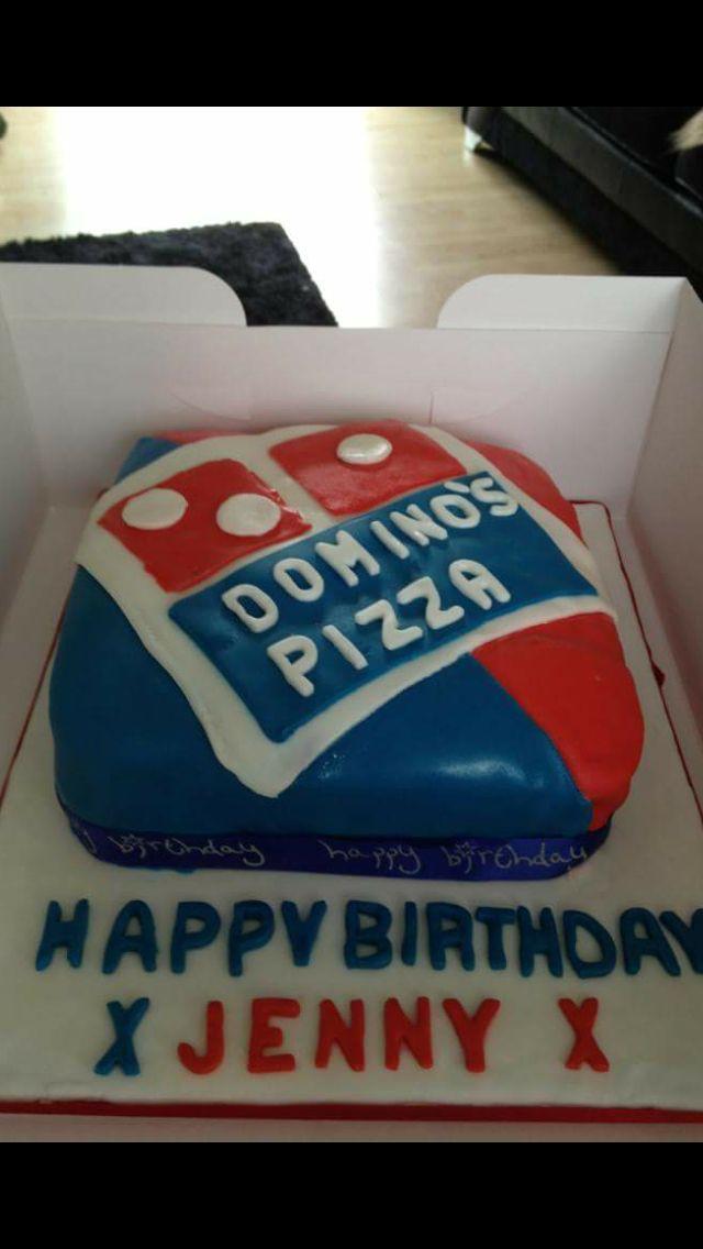 Dominos birthday cake Cakes to make you smile Pinterest