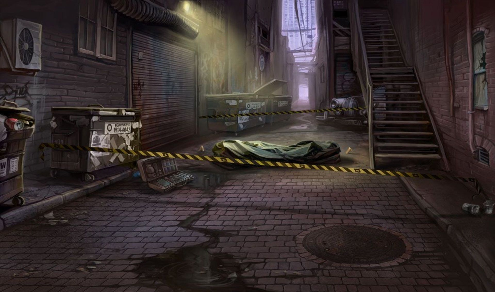 EXT. CRIME SCENE LARGE EpisodeInteractive Episode Size