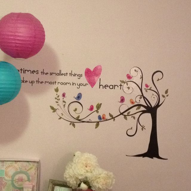 Love decorating the baby's room!!!