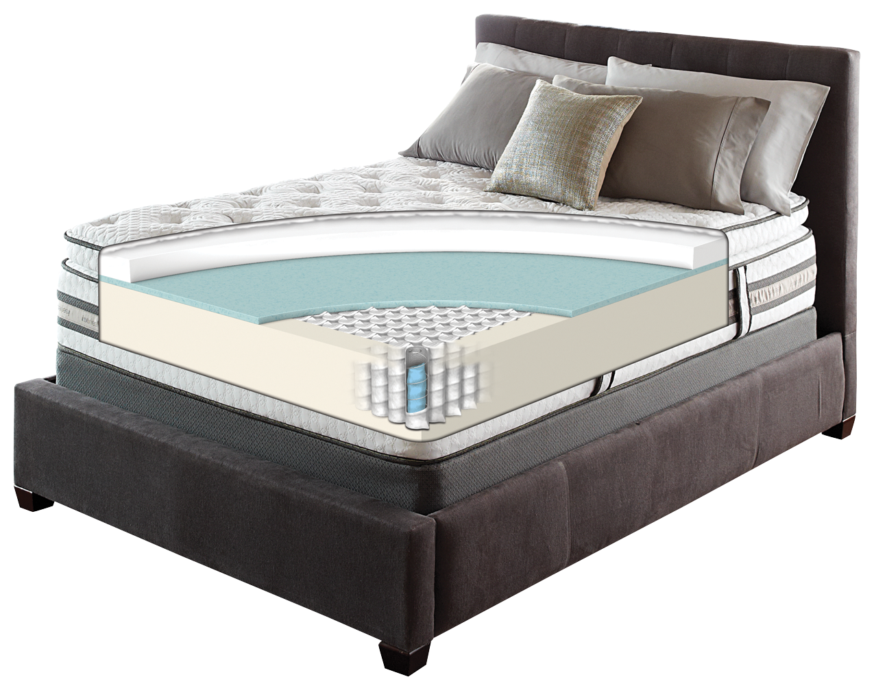 iseries merit mattress by serta features all the benefits of the