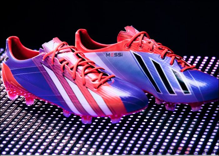 new styles e1ab1 42b47 adidas Messi F50 adiZero TRX FG Soccer Cleats - Turbo with Blast Purple ...197.99