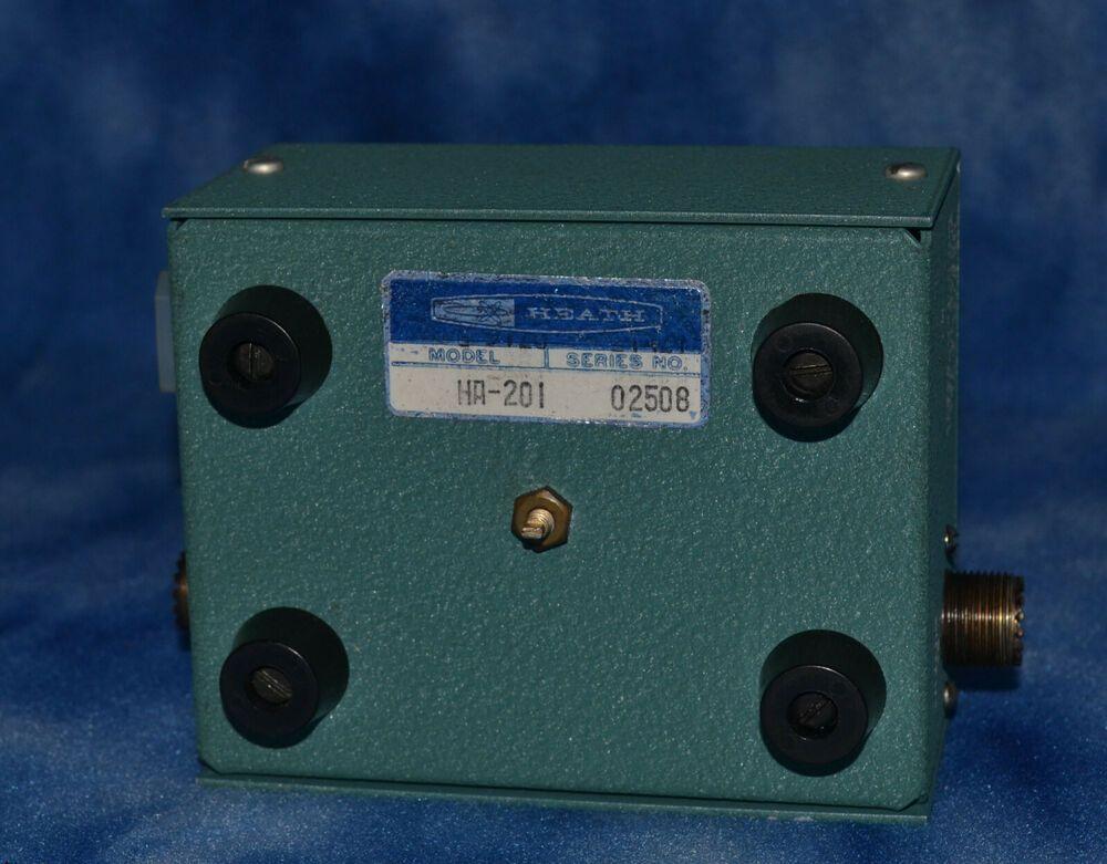 Heathkit HA-201 2 meter HT amplifier 2 W in for 8 watts out