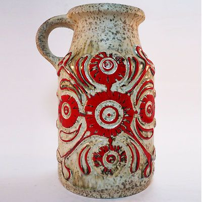 West German Pottery Vase • Ü-Keramik