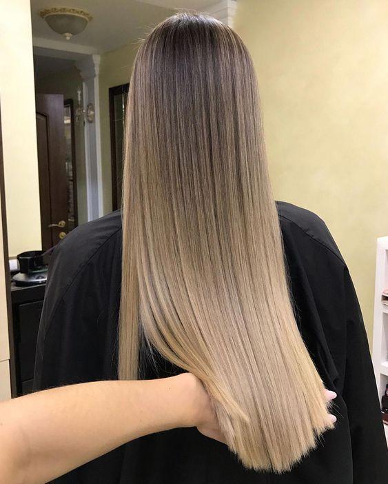 Thick Hair If You Have Frizzy And Frizzy Hair Put Your Iron Between 180 To 200 Degrees Celsius Usu Coloración De Cabello Colores De Pelo Rubio Cabello Grueso