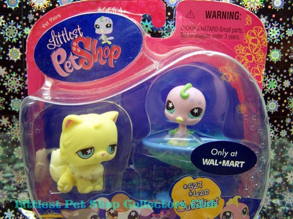 Details About Littlest Pet Shop Walmart Excl Persian Cat Lot 527