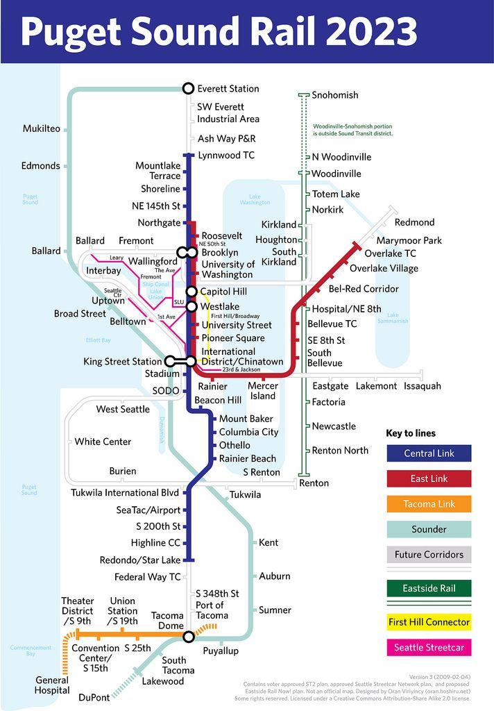 Atlanta vs  Seattle (urbanization, public transit, airport, economy
