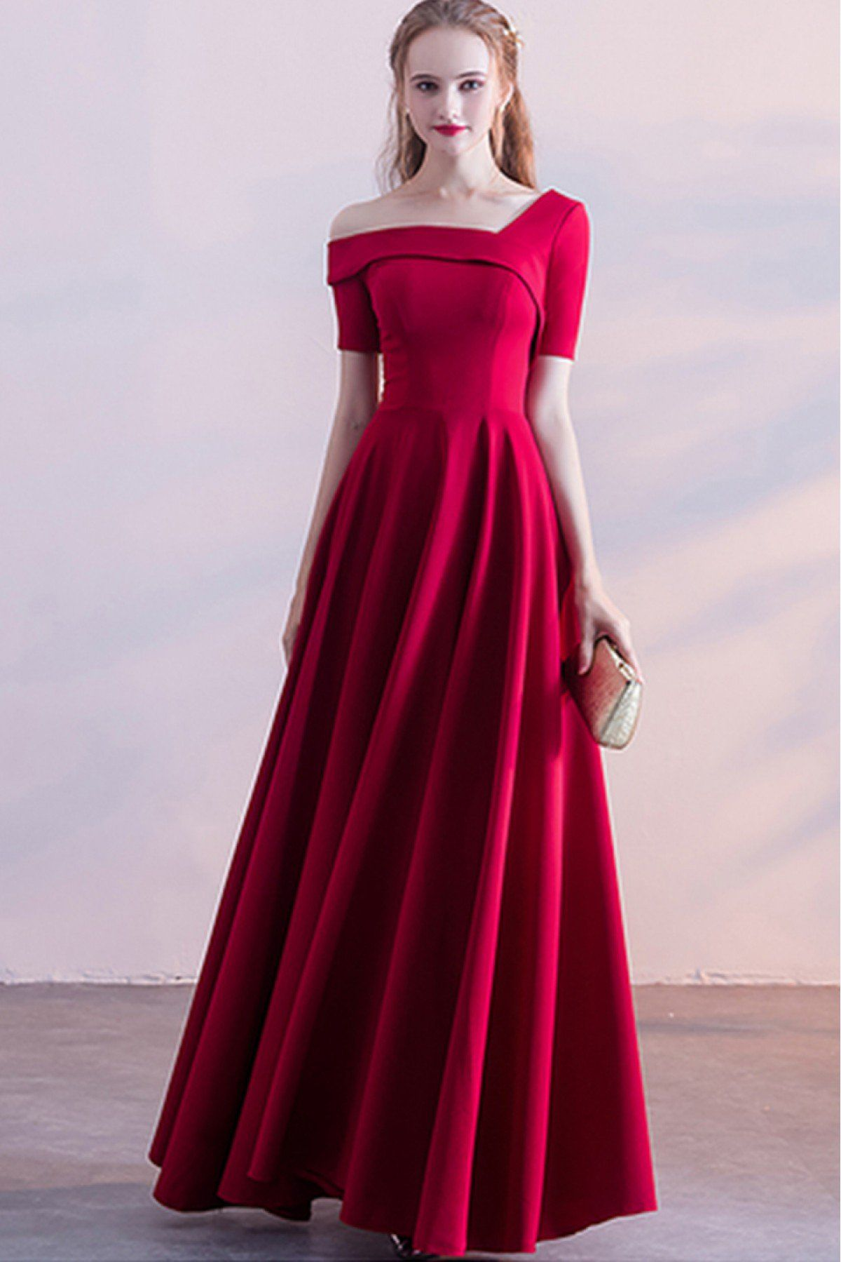 1fba8ae909900 Youdesign French Crepe Gown In Pink Colour Size Upto 66 in 2019 ...