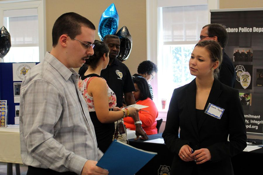 eIntern Technical Recruiter Amelia Marple at Guilford College Career
