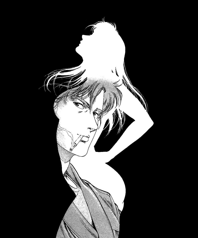 Monochromized シティーハンター イラスト 女性 イラスト