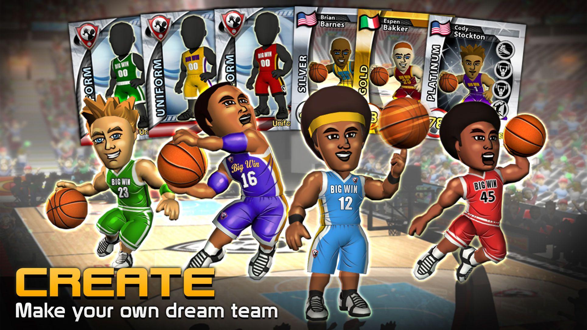 Big win basketball rolesportsiosplaying com games
