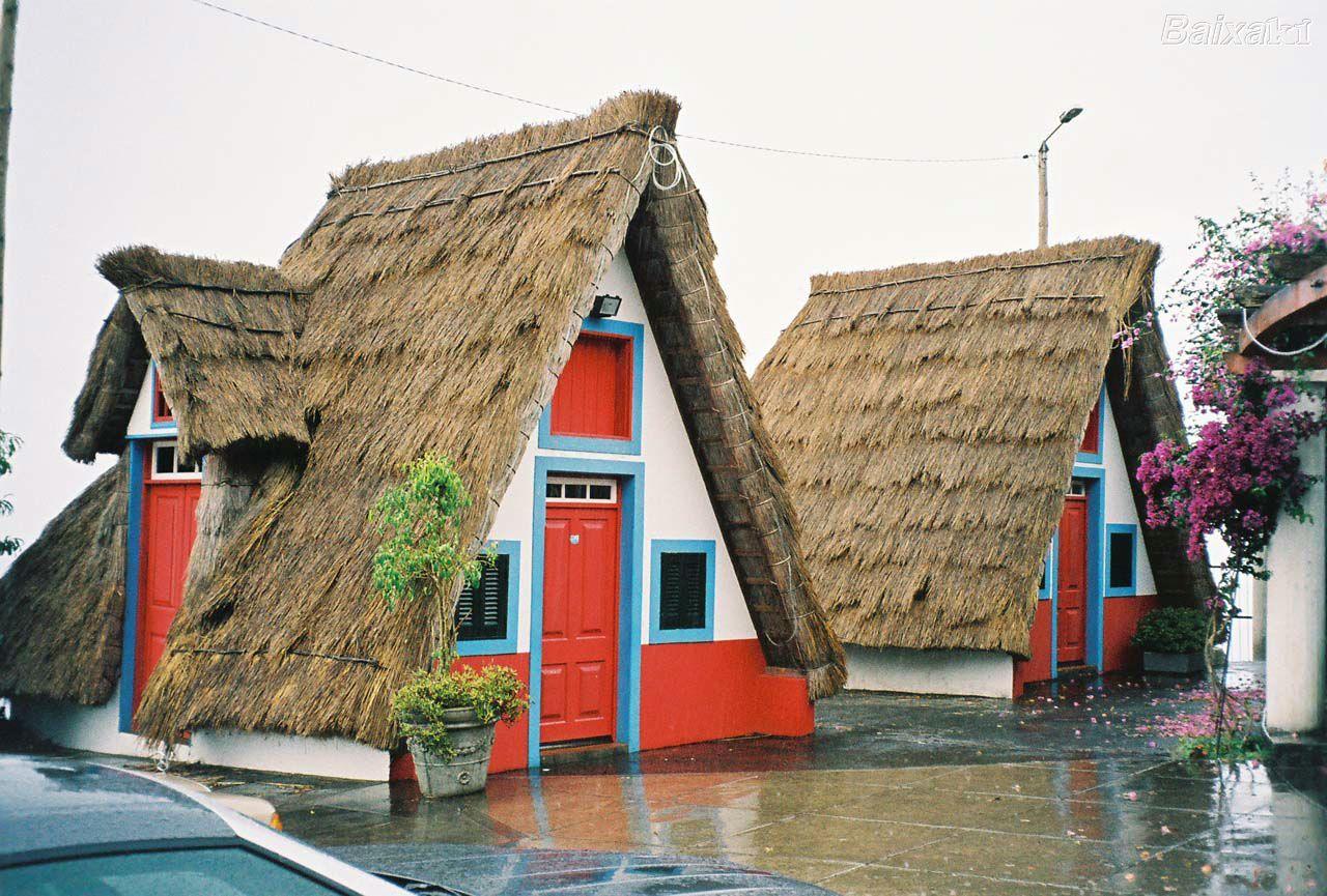 casas típicas da Madeira Portugalia