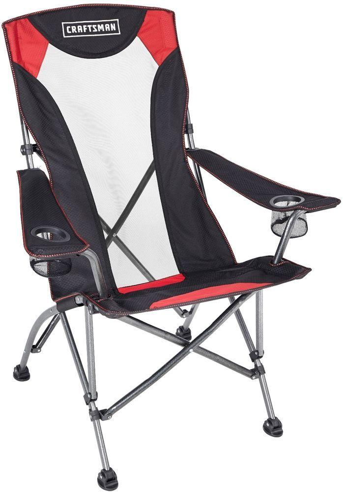 outdoor high back chair garden yard camping ergonomic seat with rh pinterest se