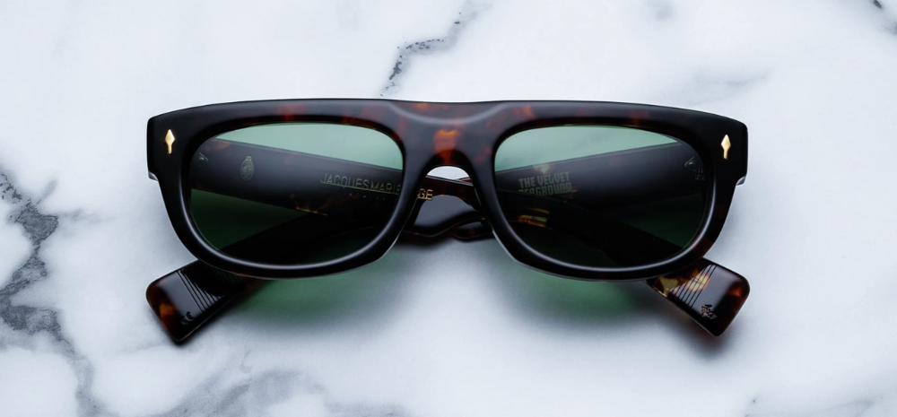 Jacques Marie Mage And The Velvet Underground Release A Special Edition Sunglass Velvet Underground Fashion Lifestyle Sunglasses