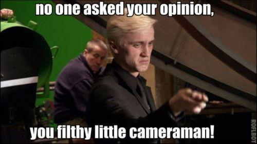 Harry Potter Cameraman : Cameraman harry potter