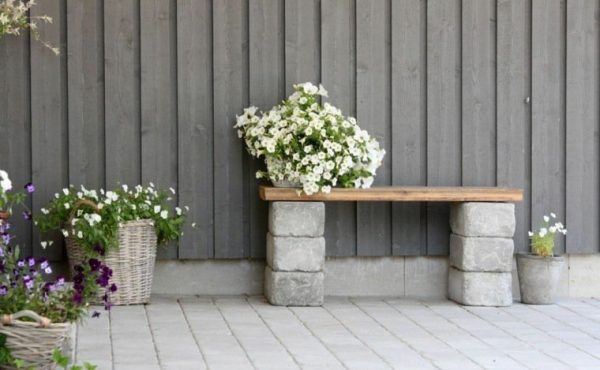 10 Diy garden seating ideas is part of Balcony garden Seating - You have your own garden and, of course, the garden is incomplete if you do not have a particular furniture such as tables, chairs, hammock…