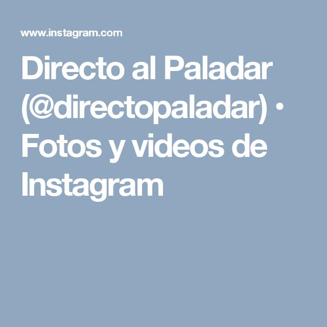 Directo al Paladar (@directopaladar) • Fotos y videos de Instagram