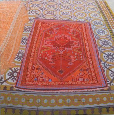 Pola Wickman - Magic Carpet #contemporary #art #hybrid #magic #carpet