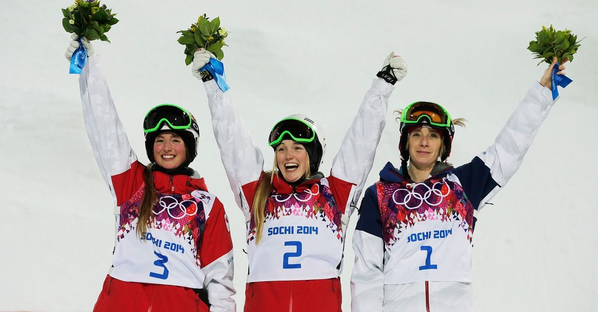 Sisters Win Gold and Silver Medals in Olympic Moguls