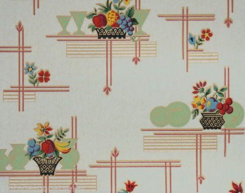 1930 S Vintage Wallpaper Kitchen Wallpaper Patterns Kitchen
