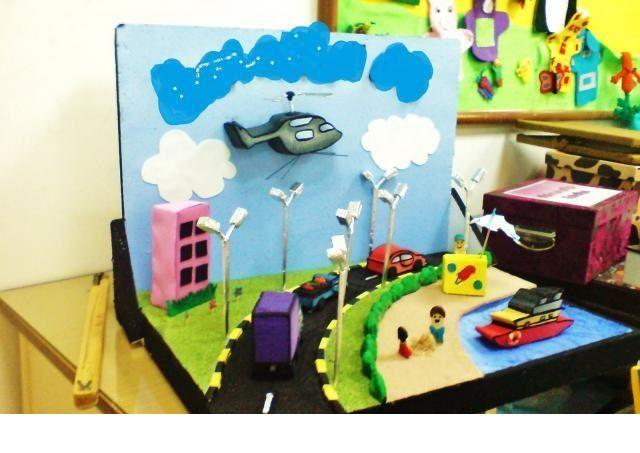 preschool transportation crafts for kıds (7