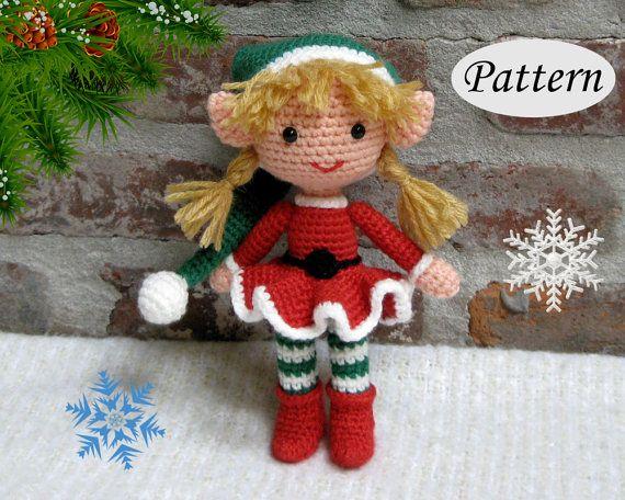 Easy Christmas Amigurumi : Pin by thank you lord & handmade hugs crochet on crochet dolls
