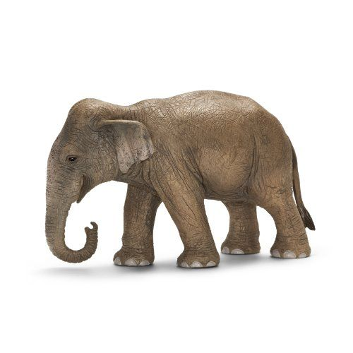 Schleich African Elephant Female Wild Life Figure Toy Figure 14761 NEW