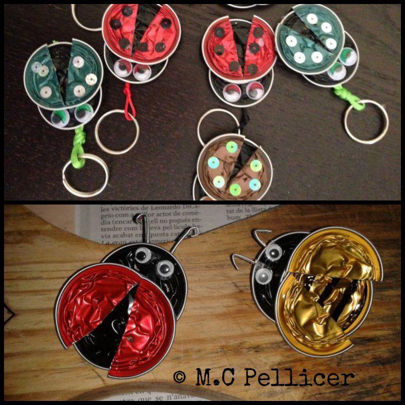 Animales con c psulas nespresso decoraciones reciclables - Que hacer con capsulas nespresso ...