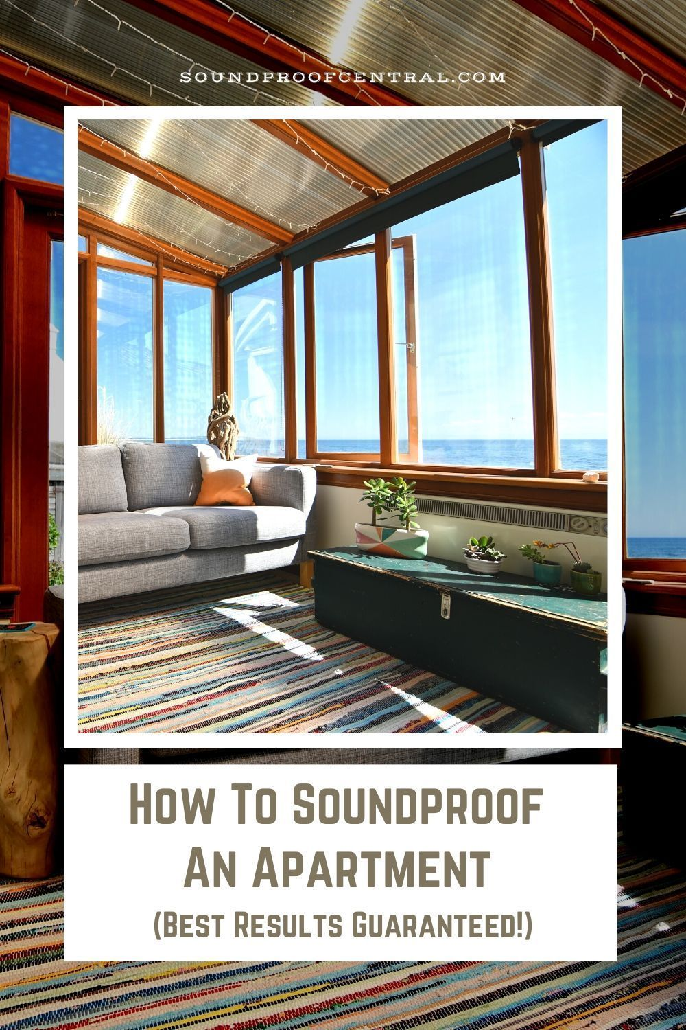 How To Soundproof An Apartment Best Results Guaranteed In 2020 Sound Proofing Sound Proofing Apartment Types Of Insulation