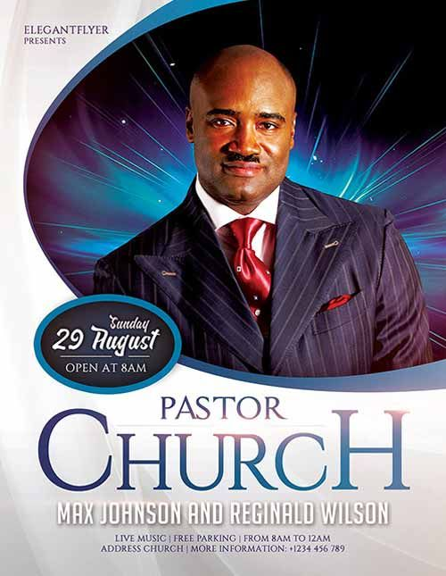 download pastors church free flyer template church flyers