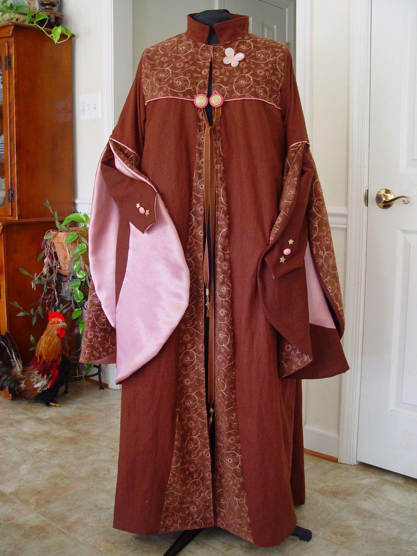 Harry Potter Dress robe-Luna by magic-needle.deviantart.com on ...