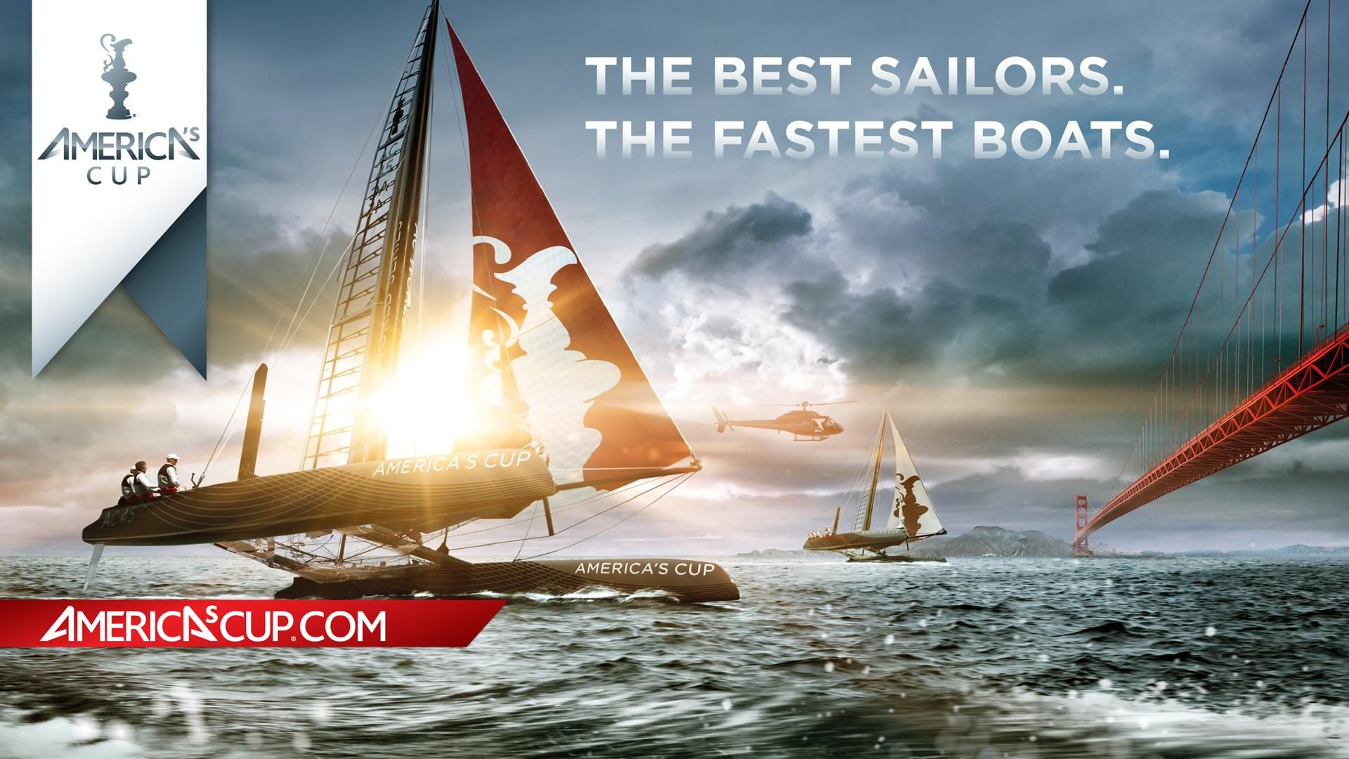 Wallpaper Yacht Extreme Sailing Americas Cup The Best