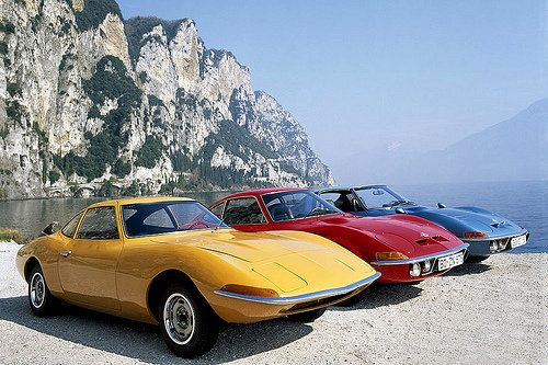 Opel GT...mine was the yellow one!