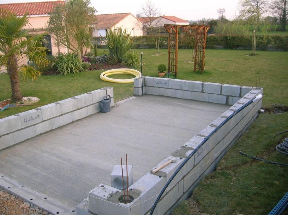 Monter Un Garage En Parpaing Construire Un Garage Parpaing Mur En Parpaing