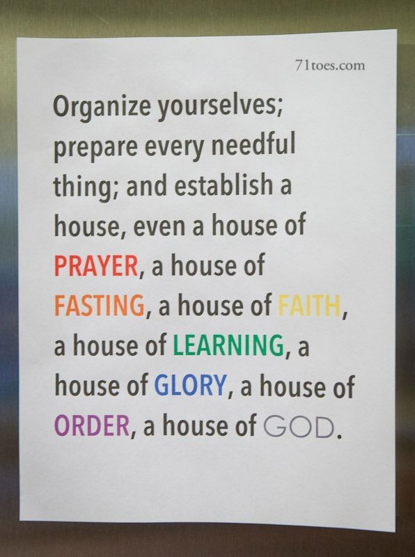 Establish a house of God | What I believe in! | Pinterest | Family ...