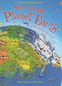 See Inside Planet Earth (Usborne Flap Book): Katie Daynes, Peter Allen: 9780794520700: Amazon.com: Books